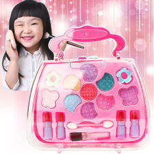 New Princess Makeup Set For Kids Cosmetic Girls Kit Eyeshadow Lip Gloss Blushes
