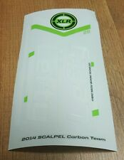 Sticker Decal Set for Cannondale 2014 SCALPEL 29 Team Lefty XLR 100 Carbon Fork