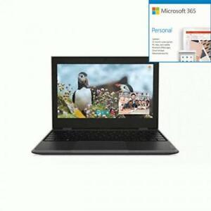 Lenovo 100e (2nd Gen) 82GJ000DUS 11.6  Netbook - HD - 1366 x + Microsoft 365 Bun