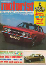 November Monthly Cars, 1970s Magazines