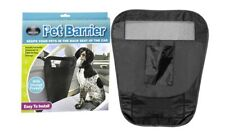 2x Auto Pet Barrier Dog Cat Car Stopper Pet Mesh Safe Foldable Block Back Seat