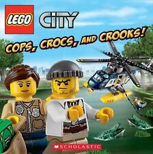 Lego City: Cops, Crocs, and Crooks! by Trey King Paperback Book (English)