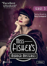 Miss Fisher's Murder Mysteries, Series 3 FREE SHIPPING