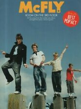 """SHEET MUSIC ALBUM - """"ROOM ON THE 3rd FLOOR"""" BY McFLY - THEIR FIRST No. 1 (2005)"""