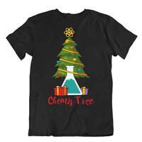 Chemis Tree T-Shirt Weihnachtslabor Hemden Spezielles Lustiges Holyday Geschenk