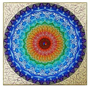Beautiful mandala, which is full of energy
