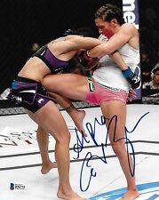 Cat Zingano Signed UFC 8x10 Photo BAS COA Picture Autograph 178 vs Amanda Nunes
