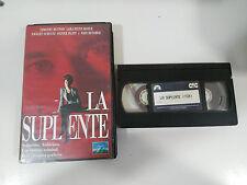 LA SUPLENTE TAPE VHS TAPE CINTA COLECCIONISTA TOM HOLLAND PROMOCIONAL !