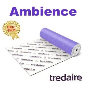 cheap price TREDAIRE AMBIENCE 9mm carpet underlay FREE DELIVERY most areas