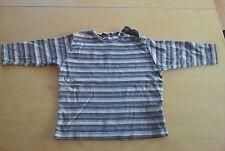 Langarmshirt, Mädchen, Baby, gestreift beige/braun, Esprit, Gr. 80