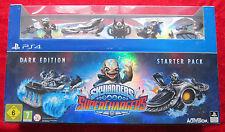 Skylanders SuperChargers PS4, PlayStation 4 Dark Edition Starter Pack, Neu OVP