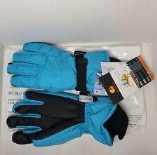 New listing Andake Aquatrail Blue Ski Gloves, Touchscreen 3M Thinsulate, Waterproof S/M, Nwt