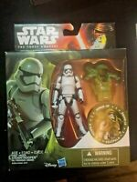 "Star Wars The Force Awakens Armor Up Stormtrooper 3.75"" Action Figure Ship Free"