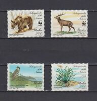 S17186) Italy MNH 1991 Wwf , Animals 4v