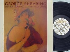 George Shearing with Don Thompson ORIG US LP Live at the Cafe Carlyle EX 84 Jazz