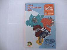 2014 World Cup Finals GOL Airline Host City Fan Guide -English & Portuguese MINT