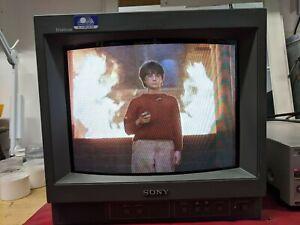 Sony Trinitron PVM-14N5E 14 Inch Crt Studio Broadcast/Gaming Monitor