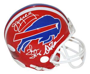 Jim Kelly Thomas & Reed Autographed/Signed Buffalo Bills Mini Helmet JSA 28291