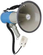 Megaphone, with siren, 25W max