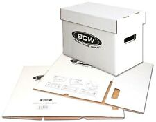 10 Short Comic Storage Boxes NEW  Cardboard  BCW Brand Archival Storage Box