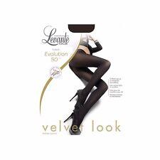 Levante Collant Donna - Evolution 50 Calze 50 den cuciture Comode-punta Nuda Nero 2