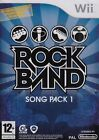 WII JUEGO ROCKBAND Rock Band Song embalar 1 YO NUEVO