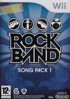 JUEGO WII ROCKBAND Rock Band Song embalar 1 I NUEVO