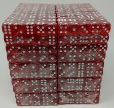 Wholesale Lot of 1000 Red Dice standard 16mm size