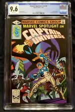 Marvel Spotlight 9 Captain Universe Mr. E Knull Symbiote CGC 9.6 WHITE PAGES