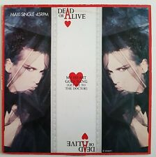 """DEAD OR ALIVE ♦ LOT 3 x MAXI 45 TOURS // 12"""" ♦ PROMO DJ MEDLEY WITH MINOGUE"""