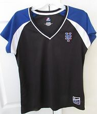 MLB New York Mets Youth or Ladies XL Shirt by Majestic