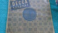 """N-NOS 78 10"""" Buddy Ella Johnson Arthur Prysock Decca 27771 Stormy Weather"""