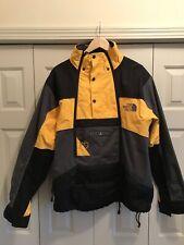 The North Face Steep Tech Scot Schmidt Ski/Mountain Jacket Yellow Black XL