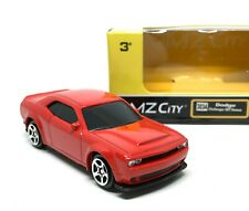 Dodge Challenger SRT Demon Red Scale 1/64 (Approx 2.5 inches) RMZ City