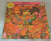 Cream Disraeli Gears Sealed Vinyl Record LP Album USA 1967 Orig Hype Sticker