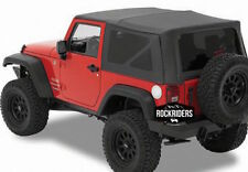 2007-2009 Jeep Wrangler 2-Door Replacement Soft Top & Tinted Windows 9070235