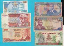 lote de 13 billetes extranjeros circulados de países varios.