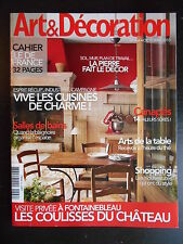 """Art & décoration"" n°464 octobre 2010"