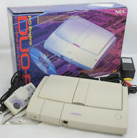 "PC Engine DUO-R Console System Boxed Tested Ref 43039464B ""NTSC-J"""