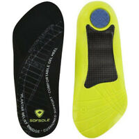 Sof Sole Women's Plantar Fascia Orthotic Shoe Insoles - Size 6-11