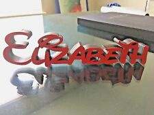 DISNEY STYLE WOODEN PERSONALISED NAMES/LETTERS/PLAQUE/SIGNS. SEE DESCRIPTIONS
