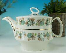 More details for staffordshire pottery gibson vintage 1940s hostess porcelain teapot