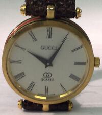 Beautiful Vintage Estate All Original Gucci Swiss Quartz Red & Green Watch AE11