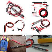 90cm Digital Multimeter Test Lead Probe Cable SMD SMT Needle Tip 1000V 10A/20A