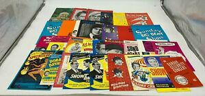 Vintage Entertainment Programmes Tom Jones Norman Wisdom Used  (HC)