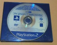Playstation 2 The Getaway Black Monday - PROMO COPY RARE