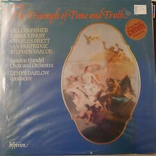 vinyl lp record HANDEL triumph of time and truth , DENYS DARLOW emma kirkby