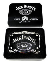 Jack Daniel`s Belt Buckle Old No.7 Collectors Tin Authentic Officially Licensed