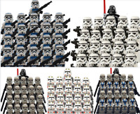 21PCS lego MOC Minifigures NEW Star Wars storm Trooper clone trooper 2020 Toys