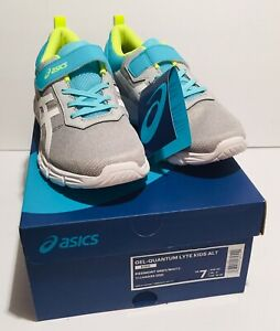 ASICS Gel-Quantum Lyte Kids ALT Grey Athletic Sneaker Shoes 1024A033-020 Size 7